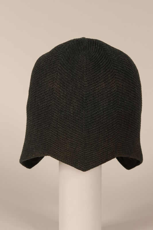 1996.73.12 front Wool cap worn by concentration camp prisoner
