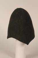 1996.73.12 side Wool cap worn by concentration camp prisoner  Click to enlarge