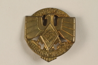 "1996.75.13 front Hitler Youth ""Youthfest"" badge  Click to enlarge"