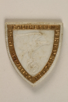 1996.75.52 front Nazi Party Bavarian Eastern Realm district meeting badge.  Click to enlarge