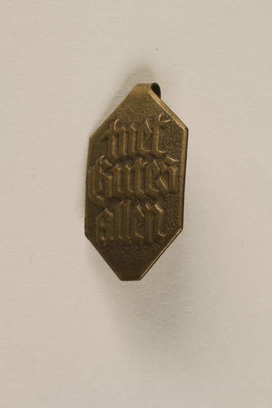 1996.75.53 front Nazi Party badge