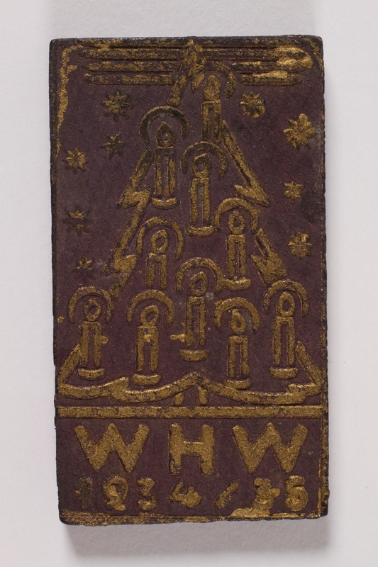1996.75.6 front Nazi Party badge
