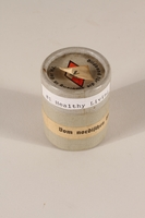 1996.77.2.2_a-b closed Nazi propaganda filmstrip canister  Click to enlarge