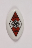 1996.90.3 front Nazi pin  Click to enlarge