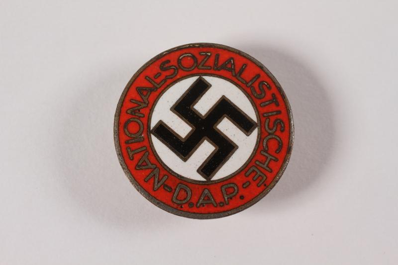 1997.103.1 front NSDAP pin