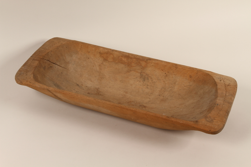 1989.332.2 front Drinking trough used in a Lovare encampment