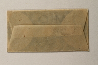 1997.112.6_f front Razor blades issued to a US soldier while held as a POW in a German Stalag  Click to enlarge