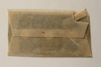 1997.112.6_h front Razor blades issued to a US soldier while held as a POW in a German Stalag  Click to enlarge