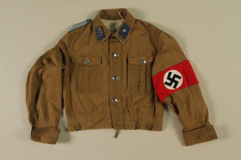 1997.116.1.1 front SA uniform jacket