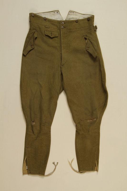 1997.116.1.2 front SA uniform pants