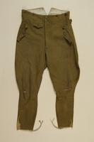 1997.116.1.2 front SA uniform pants  Click to enlarge