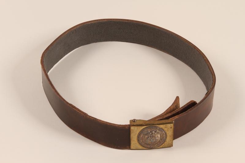 1997.116.1.5 front SA uniform belt