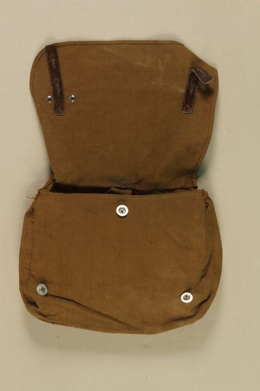 1997.116.1.7 open SA uniform satchel