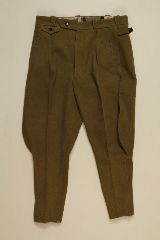 1997.116.3.2 front SA uniform pants