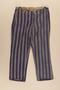 Concentration camp inmate uniform pants
