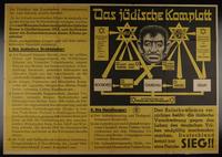 1997.124.1 front Das jüdische Komplott  Click to enlarge