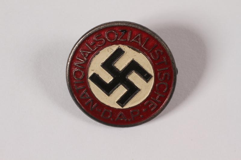 1997.41.1 front NSDAP pin