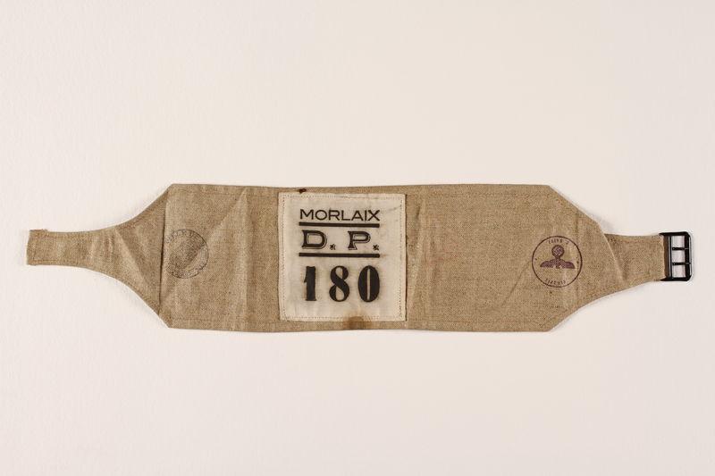 1997.87.4 front Prisoner armband