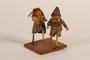 Figurine created by defendants awaiting trial in Nuremberg