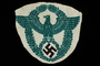 Badge bearing design of Nazi German national emblem