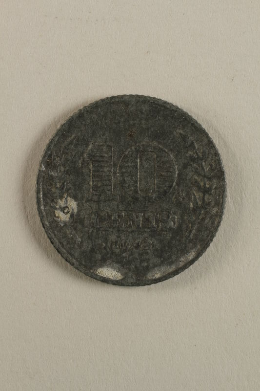 1998.62.38 back Netherlands, 10 cent coin