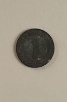 1998.62.48 back Nazi Germany, 1 reichspfennig coin  Click to enlarge