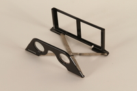 1998.92.1.1 open Stereoscopic viewing glasses to accompany book with stereoscope views on German naval history  Click to enlarge