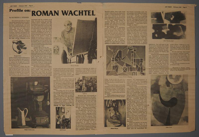1999.109.42 front Profile on: Roman Wachtel