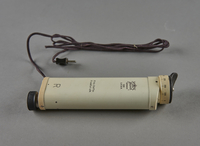 2003.451.3 right Electric retinoscope used by a Jewish German US Army medic  Click to enlarge
