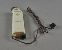 2003.451.3 bottom Electric retinoscope used by a Jewish German US Army medic  Click to enlarge