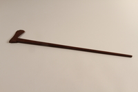 1999.170.2 back Walking stick received as a gift by a French Jewish boy who survived in hiding  Click to enlarge
