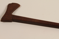 1999.170.2 right side Walking stick received as a gift by a French Jewish boy who survived in hiding  Click to enlarge
