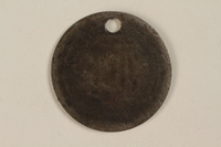 1999.187.1 back Identification tag worn in Warsaw  Click to enlarge