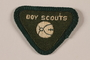 Boy Scout badge issued to Jewish refugee in Shanghai