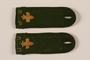 Boy Scout shoulder board with fleur de lis