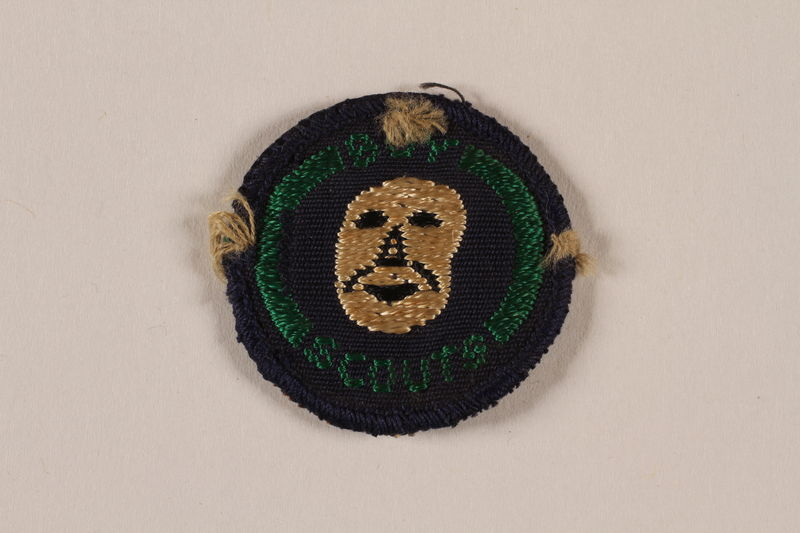 2000.24.16 front Boy Scout Merit badge issued to Jewish refugee in Shanghai