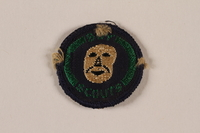 2000.24.16 front Boy Scout Merit badge issued to Jewish refugee in Shanghai  Click to enlarge