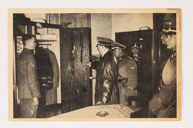 2000.349.1 front Adolf Hitler cigarette card