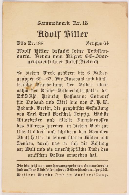 2000.349.1 back Adolf Hitler cigarette card