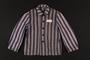 Concentration camp inmate uniform jacket
