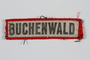 Buchenwald concentration camp badge