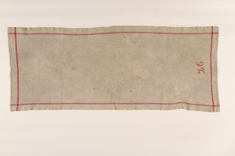 2001.49.1 front Towel