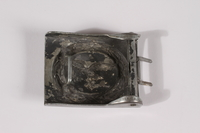 2014.480.55 back German belt buckle  Click to enlarge