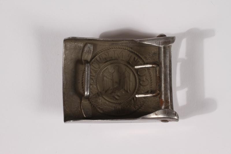 2014.480.56 back German Wehrmacht belt buckle