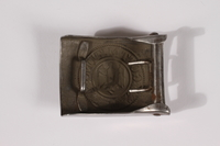 2014.480.56 back German Wehrmacht belt buckle  Click to enlarge