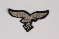 2014.480.74 front Luftwaffe eagle emblem  Click to enlarge