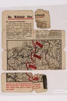 2014.480.78 front Psychological warfare leaflet in German  Click to enlarge