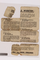 2014.480.78 back Psychological warfare leaflet in German  Click to enlarge