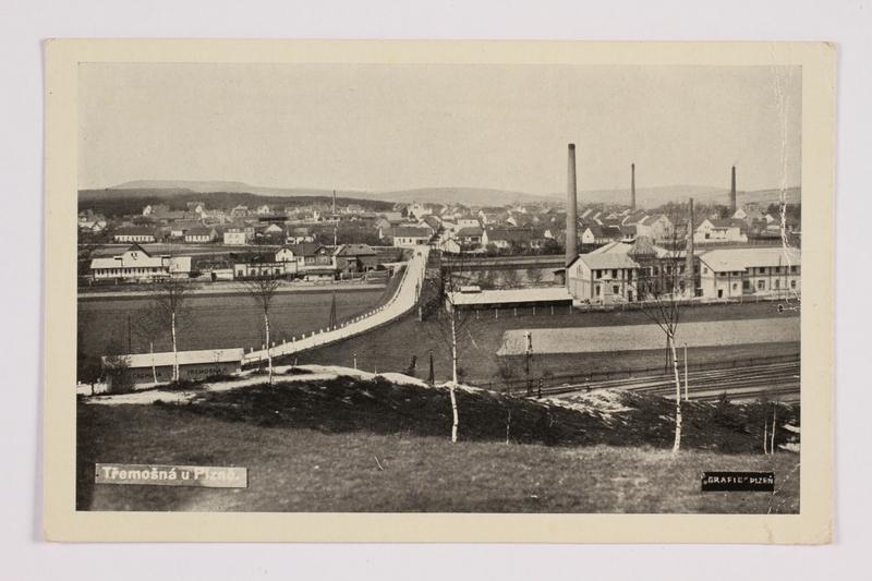 2014.480.81 front Postcard of Tremosna u Plzne (Plzen)