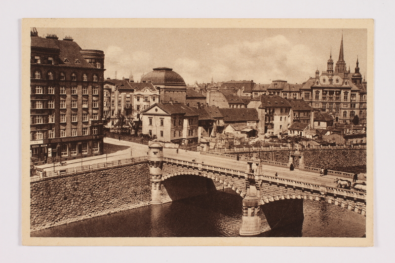 2014.480.82 front Postcard of Plzen